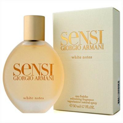 Armani Sensi White Notes