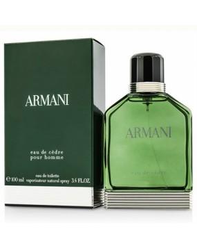 Armani Eau De Cedre Pour Homme
